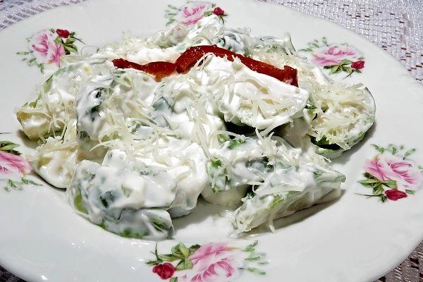 Salát zkapustiček