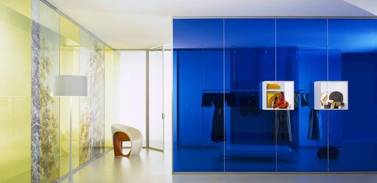 Pareti Divisorie Design in Vetro Luconi