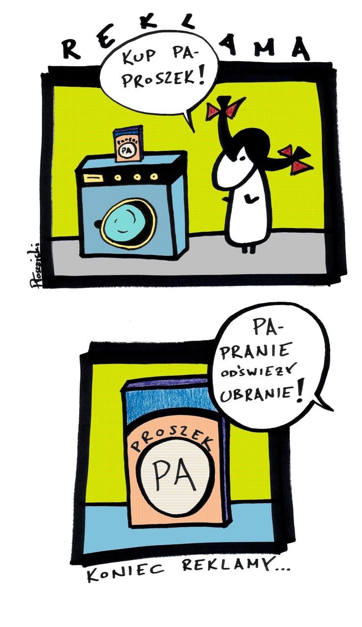 """Proszek """"PA"""" radę da!"""