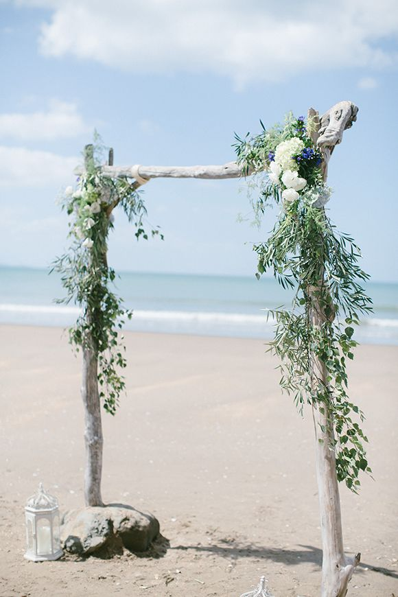 402 best arbors and arches backdrops images on pinterest wedding flowers leafandhoney auckland beach wedding by williams photography i junglespirit Image collections