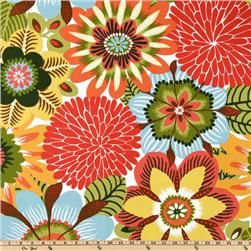 Fun: Kitchens Colors, Floral Prints, Living Rooms Pillows, Flowers Patterns, Robert Allen, Kiki Pinata, Couch Pillows, Fabrics Design, Allen Kiki