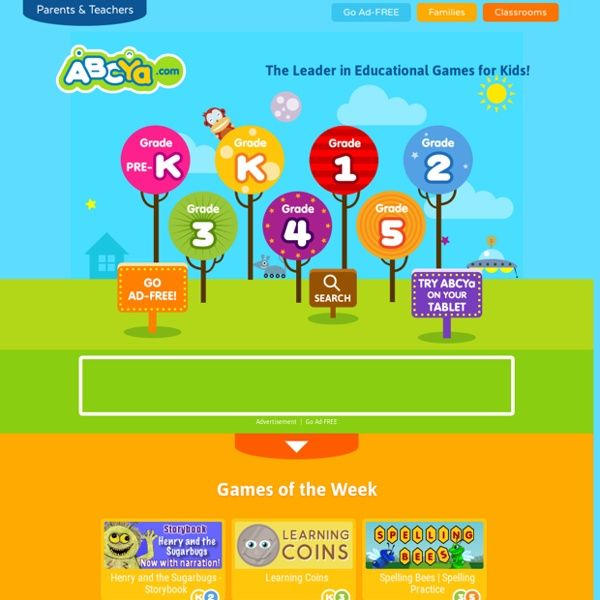 Abcya Com For Kids - Kids Matttroy