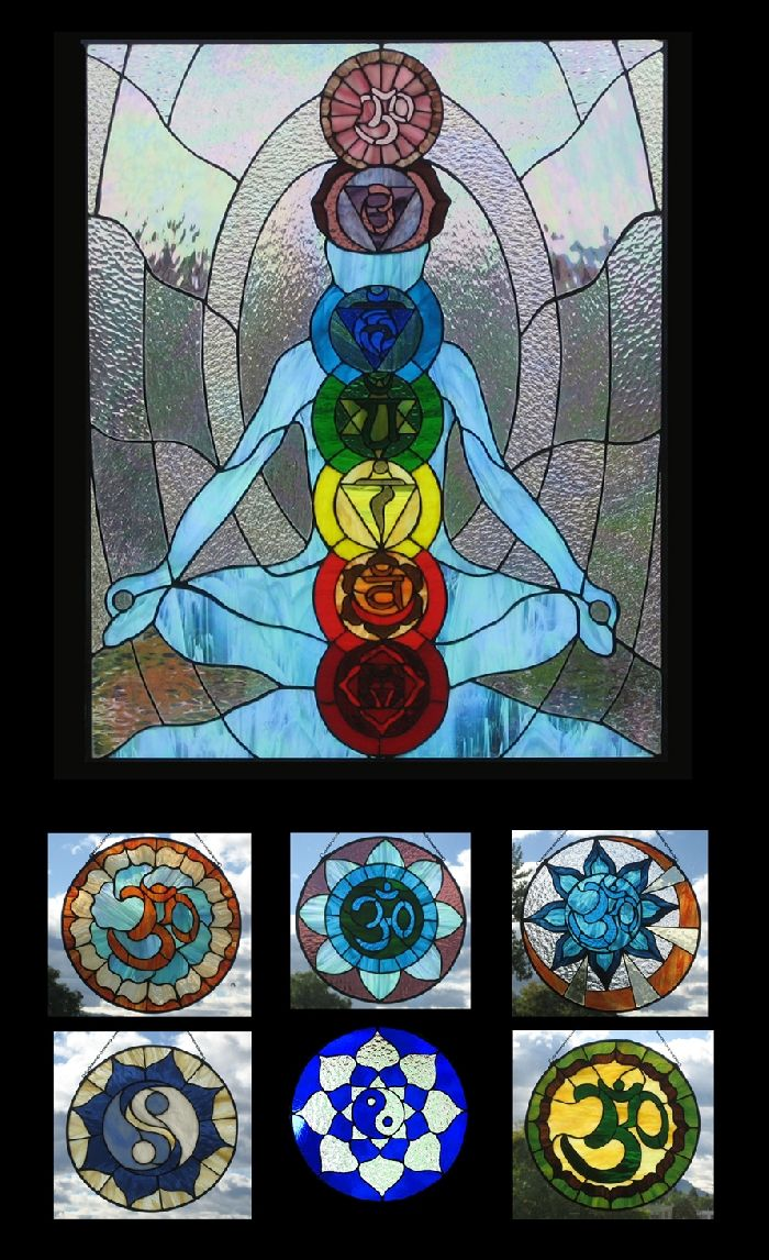 Image detail for -Stained Glass Patterns :: Stained glass Art Gallery - The Chakras ...