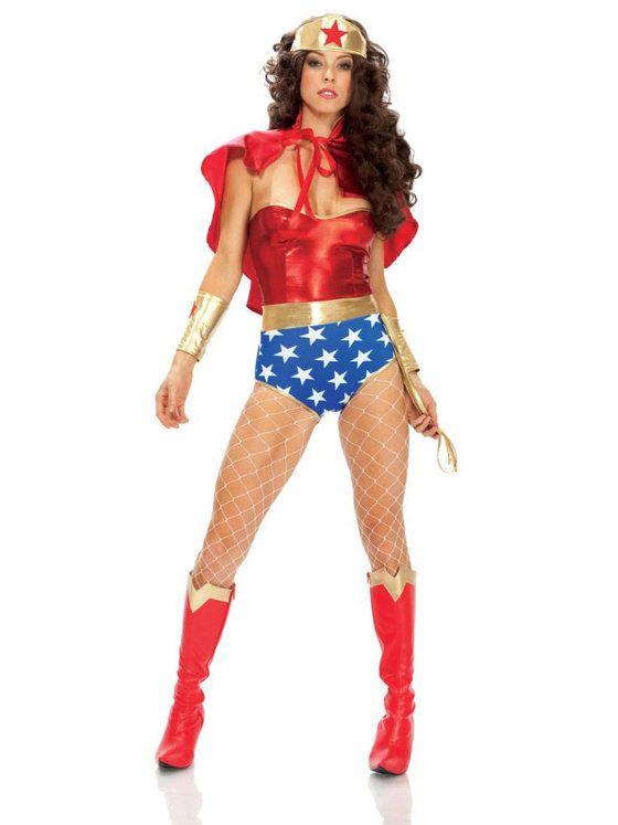 Sexy Super Seductress Women's Costume