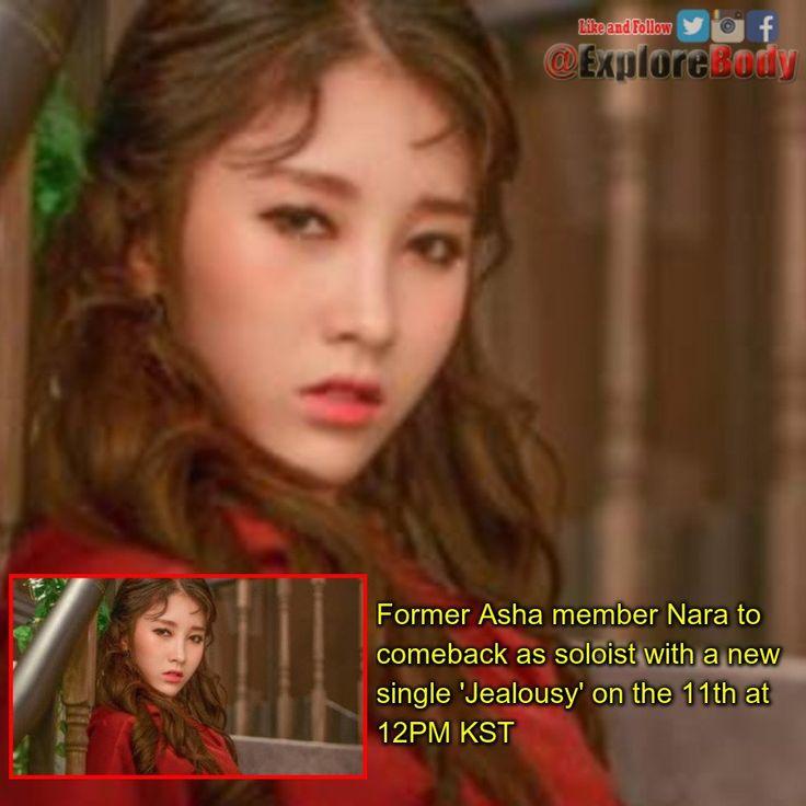 Former Asha member Nara to comeback as soloist with a new single 'Jealousy' on the 11th at 12PM KST FOLLOW US @ExploreBody #Celebrity #ExploreBody #Korea #Hallyu #Kdrama #Kpop #drama #NationalChampionship #FelizMartes #TheBachelor https://t.co/eNu9F1oaaP