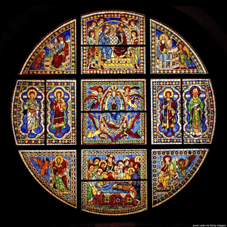 The Most Stunning Stained Glass Windows In The World: Siena Cathedral, Siena, Italy