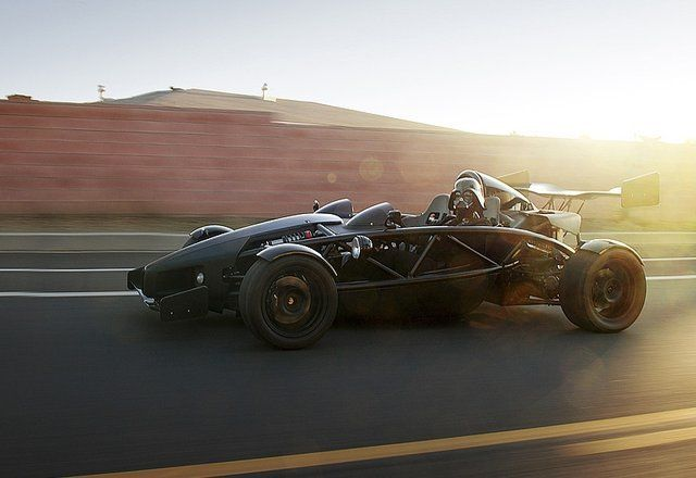 Ariel Atom  If I were to buy a 'toy' car, it will be this one.