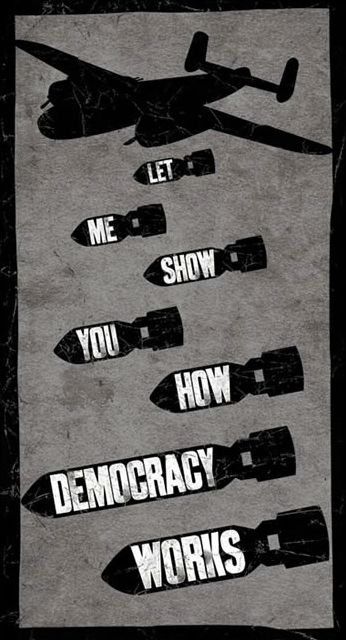 Let me show you how democracy works | Anonymous ART of Revolution