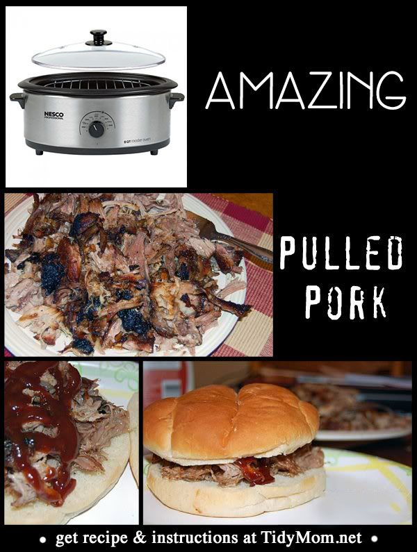 Nesco roaster pulled pork recipes
