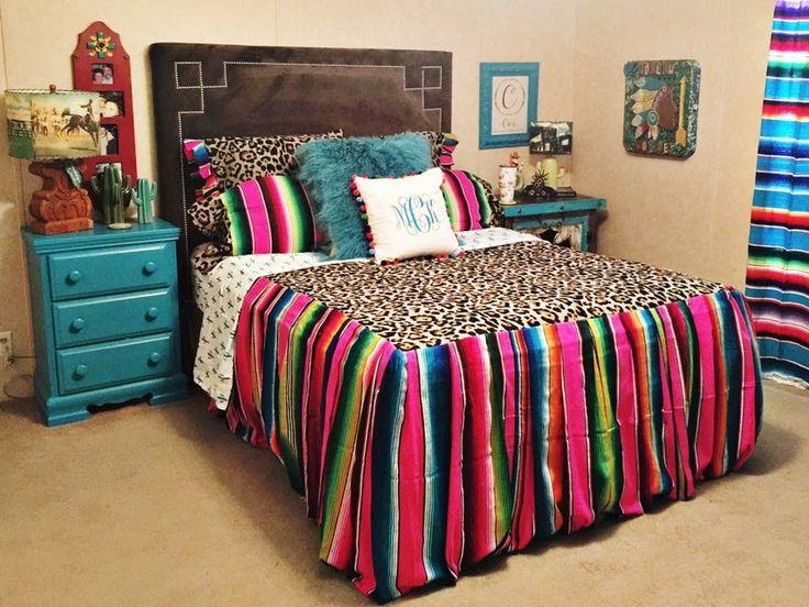 Leopard & Serape bedding