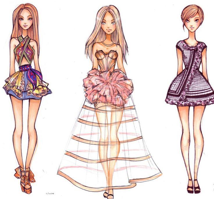 summer dress sketches designs wwwpixsharkcom images