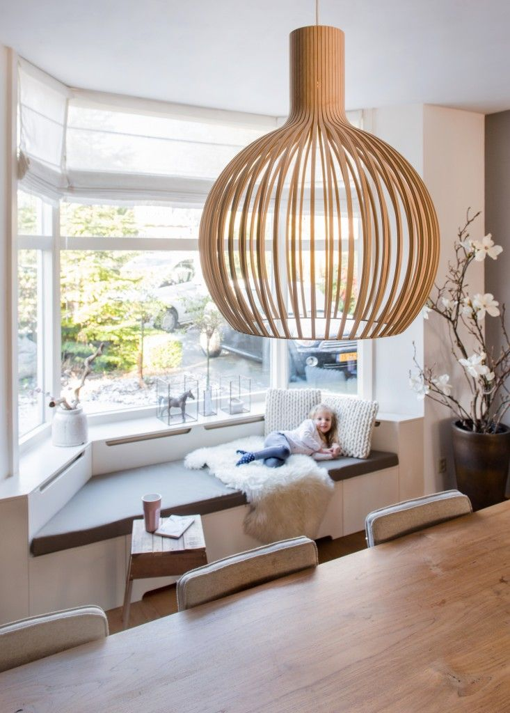 Our Octo 4240 in birch in lovely home in the Netherlands. Interior design by: MetMijke Interior Styling. Photo by: Monique Aaldijk.