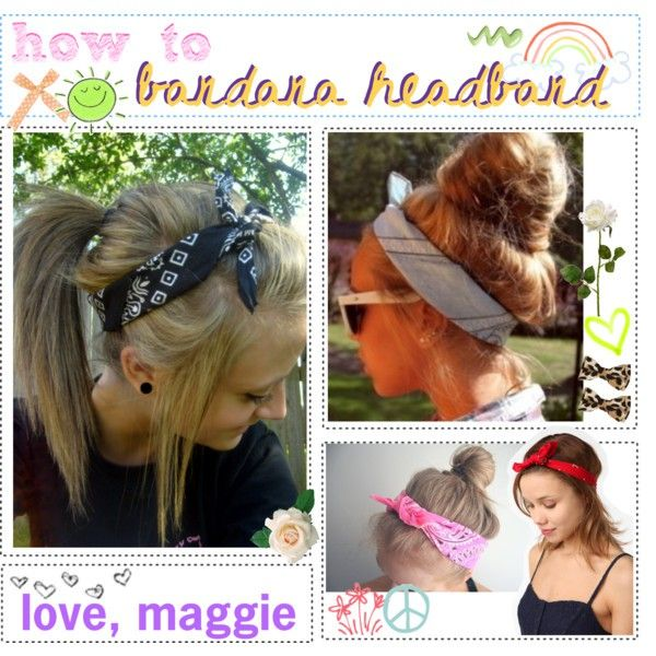 Headband bandanas