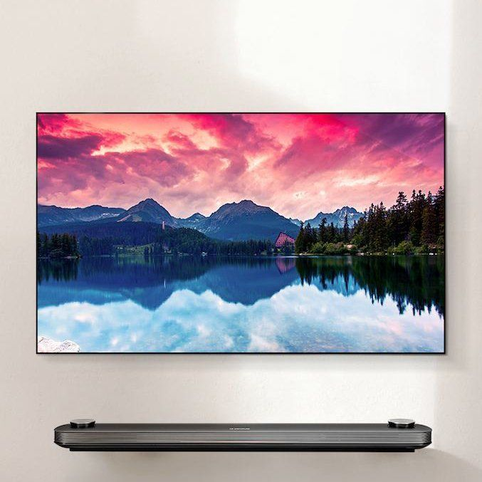 LG Signature OLED TV W 4K HDR Smart TV #4k, #InnovativeGadgets, #smart, #Technology, #TV
