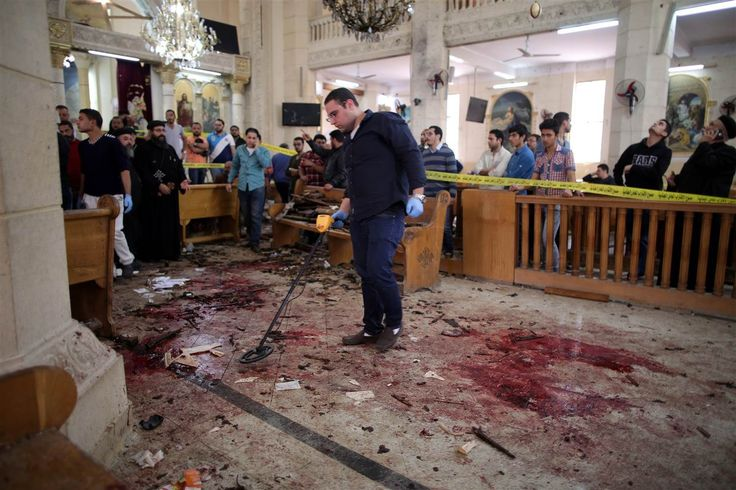 Palm Sunday attacks: ISIS says it carried out bombings at churches in Egypt that killed at least 37 - Rumorfacts Breaking News Updates   Latest News
