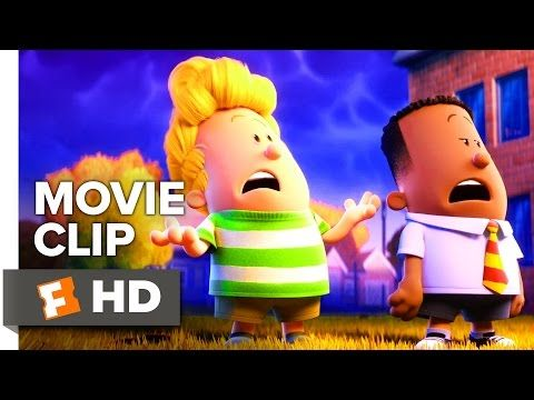 CAPTAIN UNDERPANTS: THE FIRST EPIC MOVIE Clip - Helps People
