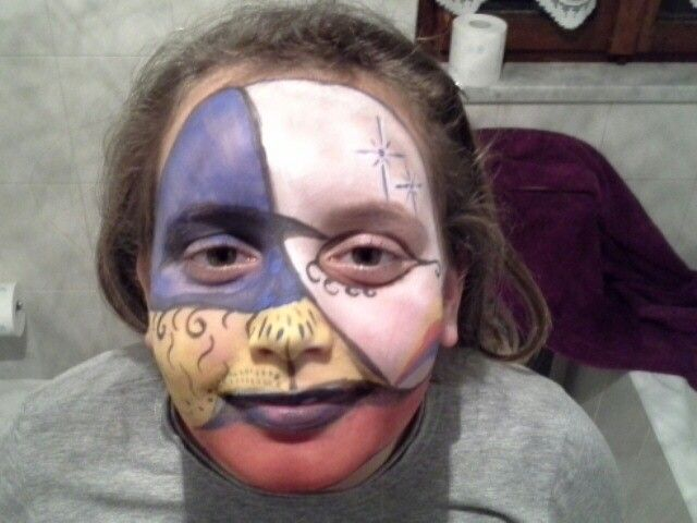 Primo  face painting!