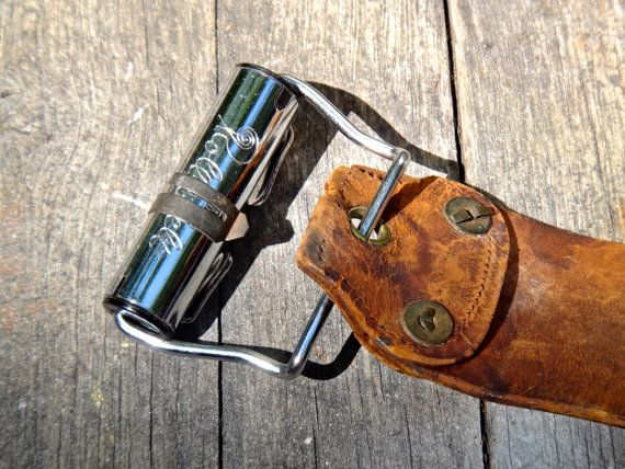 Leather Razor Strap Roll a Belt Razor Strop 486 by MaxsUniquities
