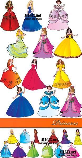 Рисунок платье векторный клипарт