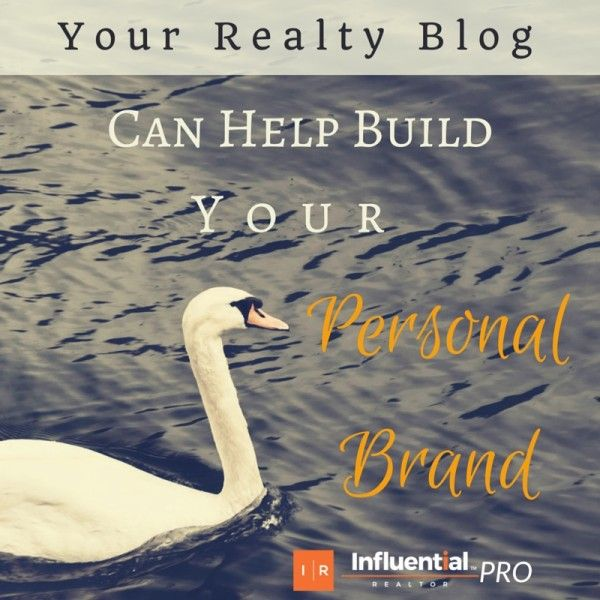 How Your Realty Blog Can Help Build Your Personal Brand. See how consistent writing, your expert realty advice, and more can boost your online presence.  #realestate #brand #marketing #blog #blogging