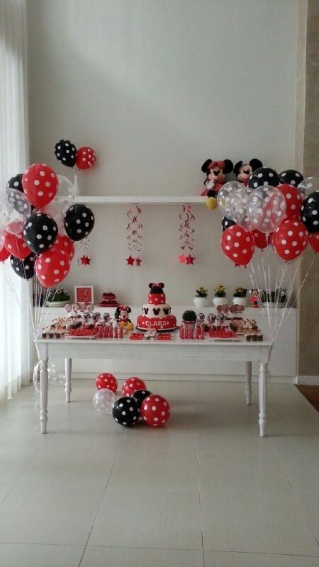 Minnie & Mickey - Decoração de festa infantil