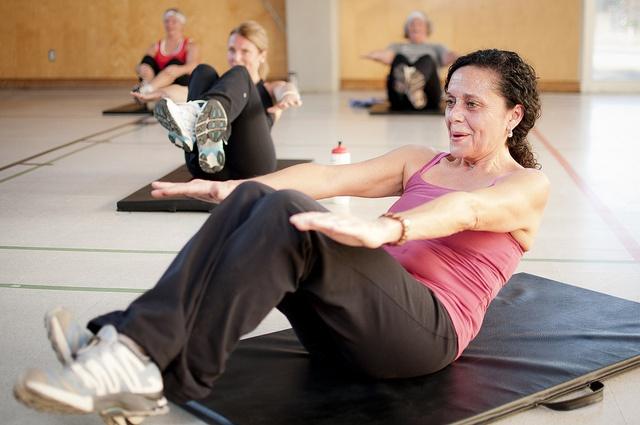 Learn abdomen workout routines at the YMCA of Parry Sound