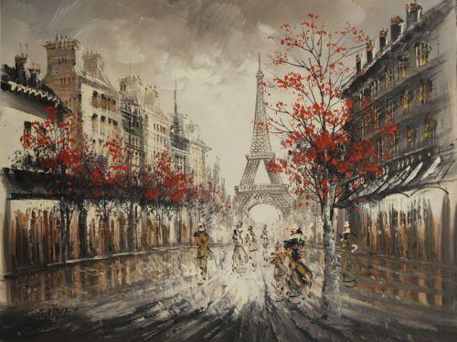 Original Oil Painting By Burnett