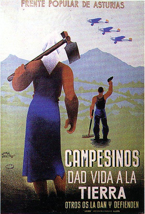 Campesinos dad la vida a la tierra