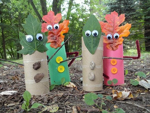 preschool preschool-fall: Fall Leaves, Fall Crafts, Kids Crafts, Leaf People, Craft Ideas, Finger Puppets