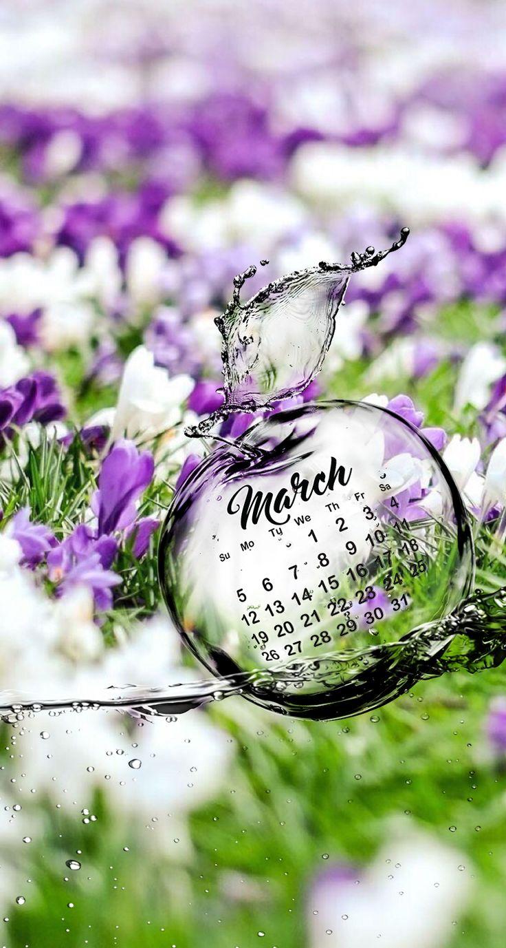 Calendar Iphone Wallpaper : Images about march calendar wallpaper on pinterest