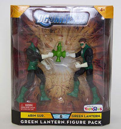Abin Sur y Linterna Verde DC Universe- Figura Acción Mattel
