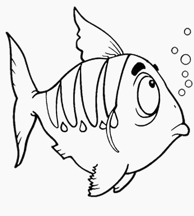 Pin by Ann Yates on Digi Stamps | Fish coloring page ...