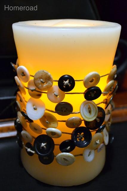 Vintage Button Garland