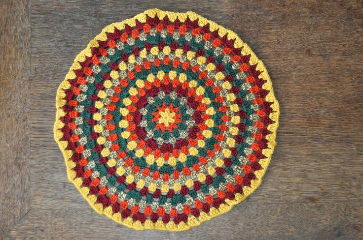 deborah haakt granny kleedje crochet doily