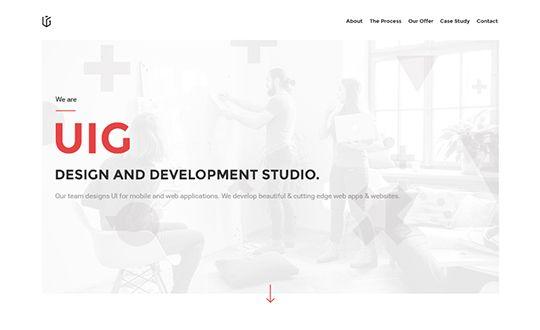 New #Website on our #Gallery : UIG Studio by UIG Studio…
