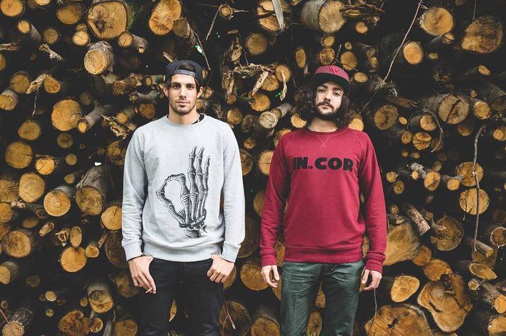 Winter is coming and we are ready. Buy our sweatshirt on http://ift.tt/13uUUlv  Ph. @elladephoto #incor #incaseofrevolution #neverstopexploring #wood #sweatshirt #italianbrand #streetwear #street #streetstyle #winter