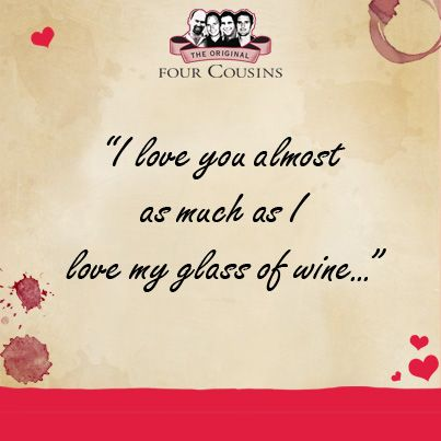 """Would you fall for a pickup line?   Here's a pickup line for our cuzzies… do you think it will work? """"Hey sweetheart, I brought some good wine. So why don't you be my Valentine?""""  #pickupline #monthoflove #fclove"""