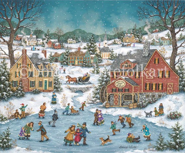 123 best Bonnie White Artist images on Pinterest