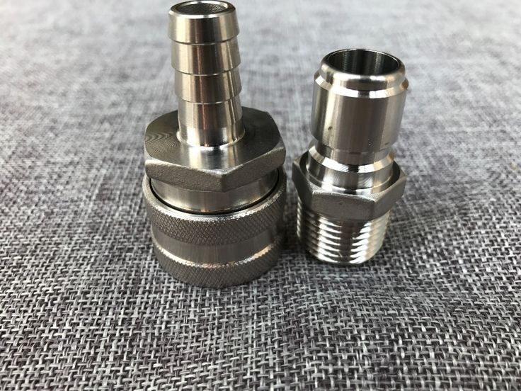 """Like and Share if you want this  Stainless Female Quick Disconnect Set, Homebrew Fitting, 1/2""""BSP, Wholesale and Retail beer Quick Disconnect for home brewring     Tag a friend who would love this!     FREE Shipping Worldwide     Get it here ---> http://rangloo.com/stainless-female-quick-disconnect-set-homebrew-fitting-12bsp-wholesale-and-retail-beer-quick-disconnect-for-home-brewring/"""