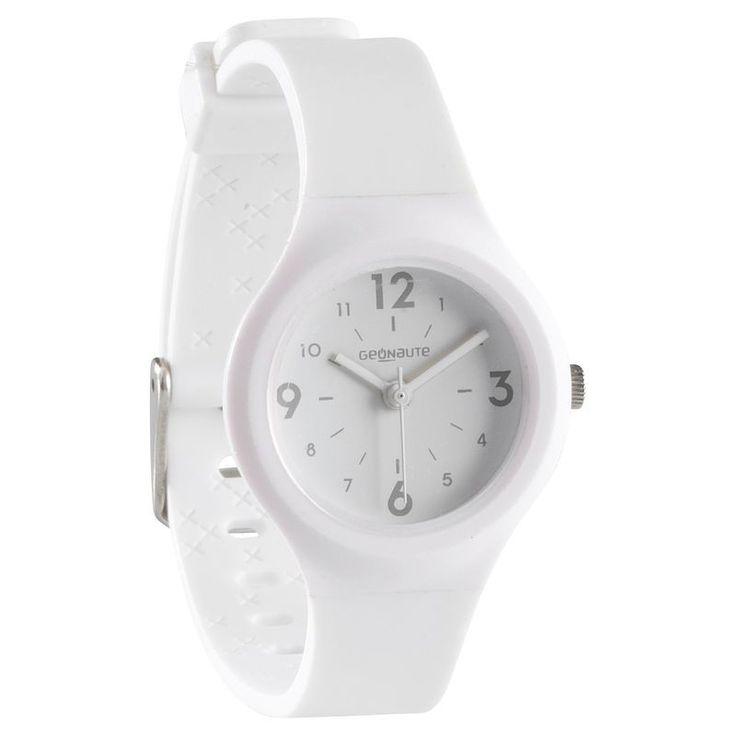 Дамски/детски спортен аналогов часовник A300 S SWIP, бял