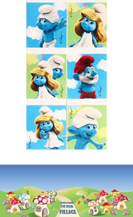 Smurfs D.I.Y. licensed sticker money box