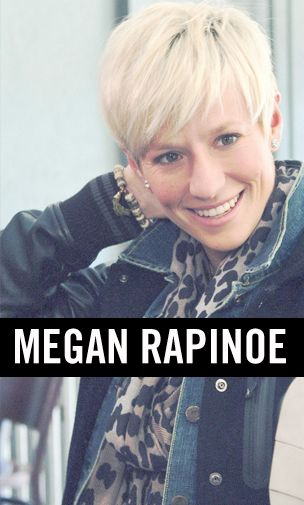 Cute hair! megan rapinoe