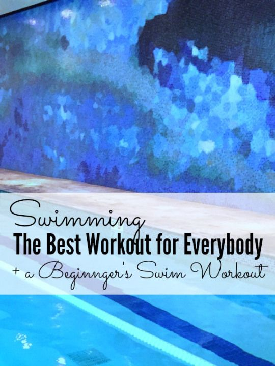 Whether you're looking to lose weight, rehab an injury or build muscle, swimming is a total body workout for everybody. Here's what you need to know plus a beginner swim workout.