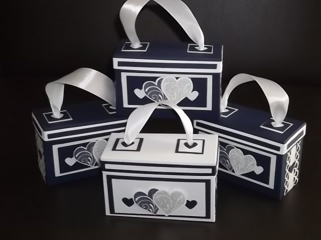 Jewellery giftboxes for the bridal gifts