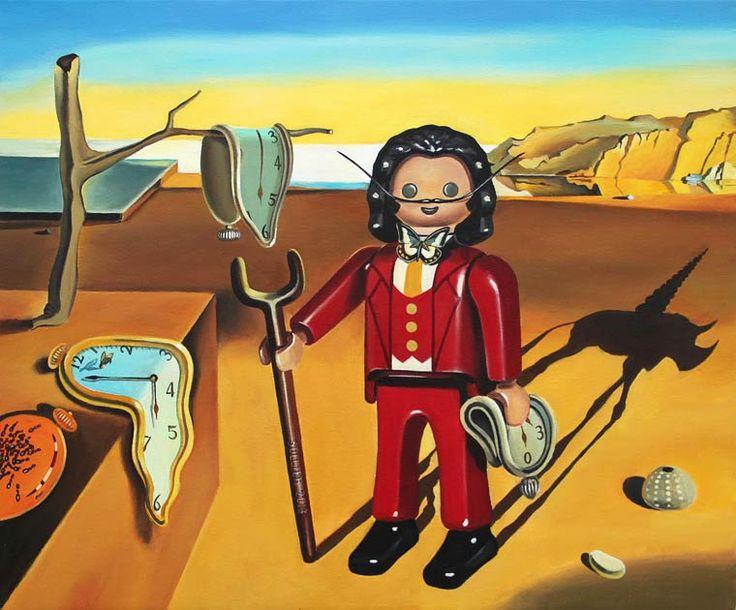 Die Bilder haben wir schon mal gesehen, aber irgendwas ist doch anders. Aber was denn bloß? Genau! Die Personen auf den Gemälden sind gar keine richtigen Menschen, sondern #Playmobil-Figuren. Auf di...