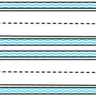 This set of blue chevron name plates would add some fun to any classroom and go great with any theme! Each 8 1/2 by 11 page has two nameplates. The...