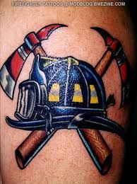 Image result for small firefighter tattoos