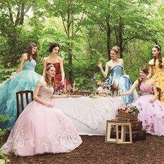 クラウディアからディズニープリンセスのウエディングドレス、シンデレラや白雪姫など6作品をモチーフにの写真1