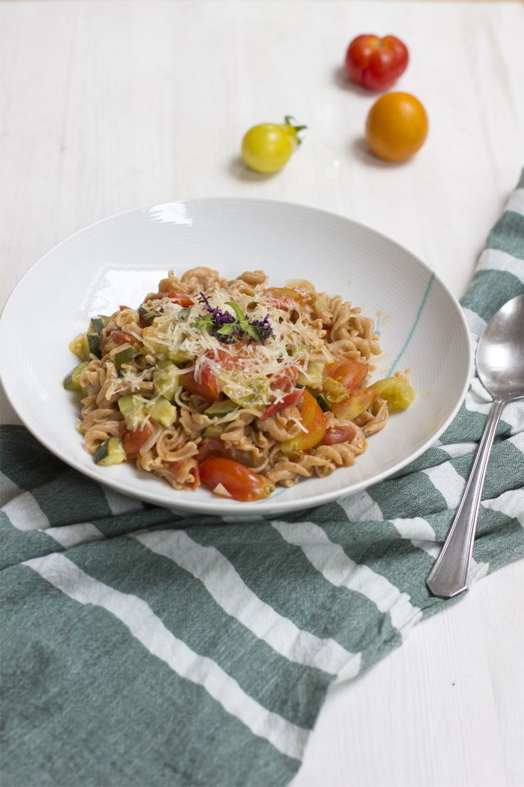 Magical one pot pasta: make a pasta lunch with fresh ingredients in 15 mins   LOOK WHAT I MADE ...