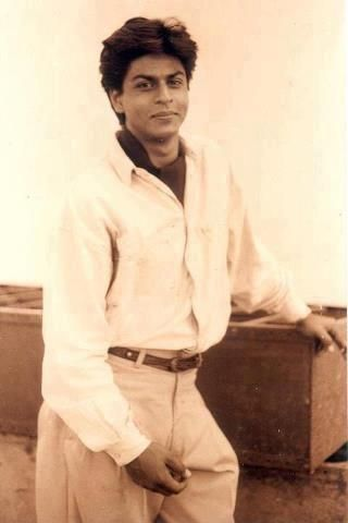 Very young Shahrukh Khan